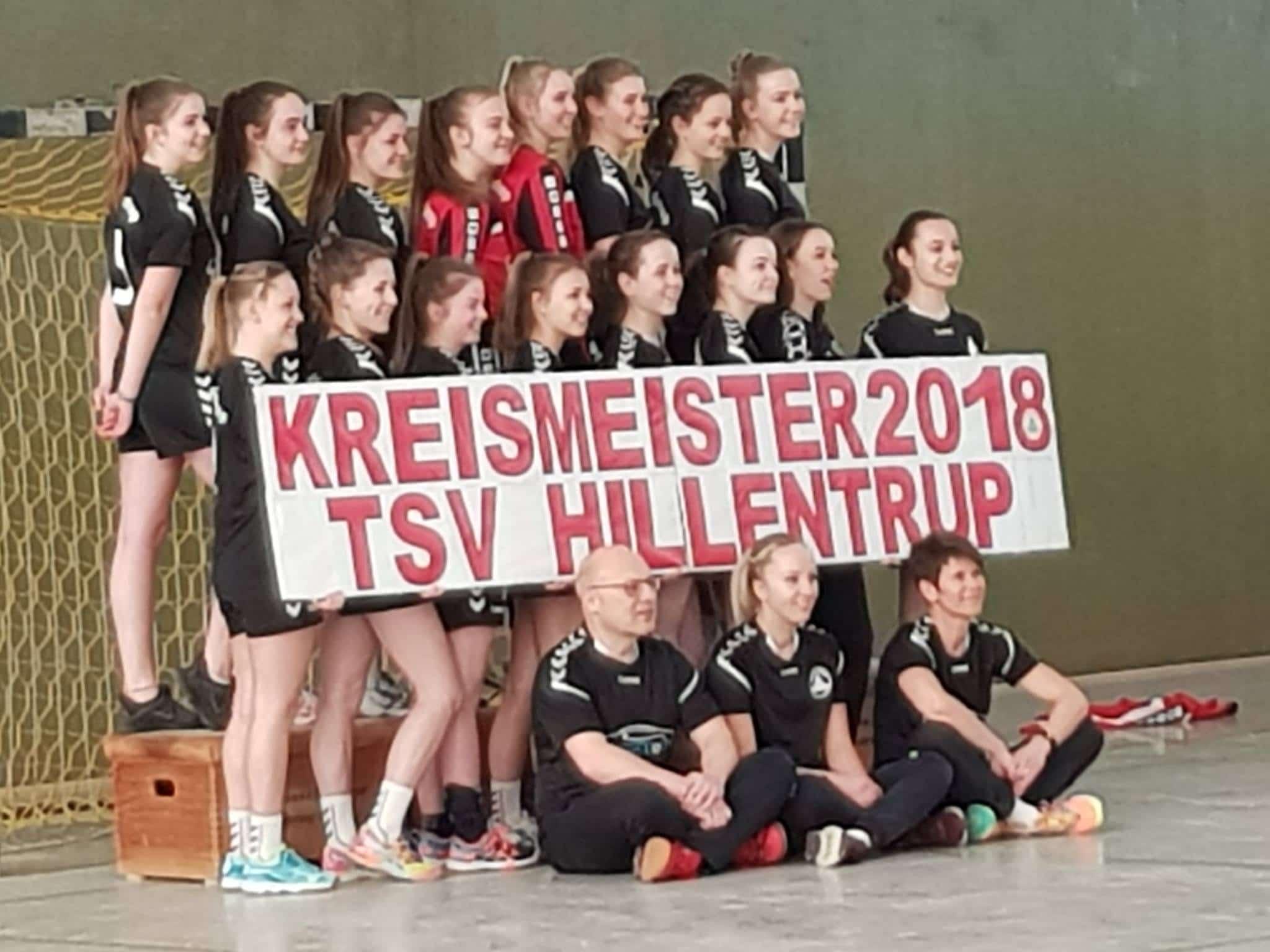 Fahrschule Sven Bothe - B-Jugend Kreismeister 2018 Mannschaftsfoto