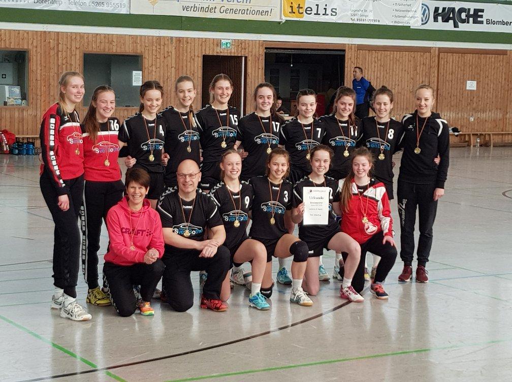 Fahrschule Sven Bothe - B-Jugend Mannschaftsfoto