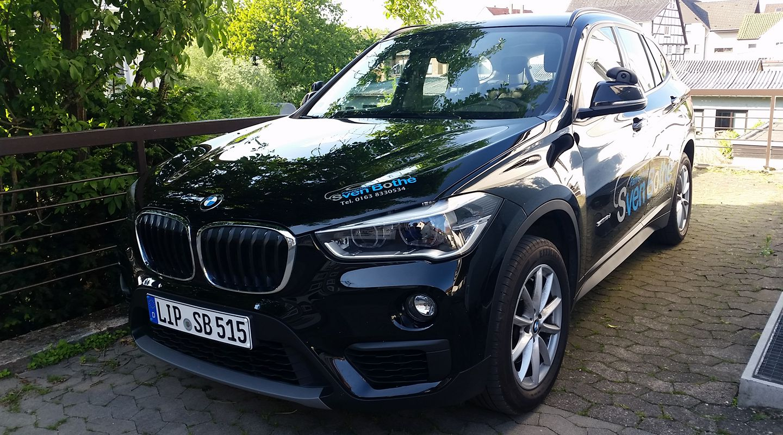 Fahrschule Sven Bothe - BMW X1 Ausbildungsfahrzeug