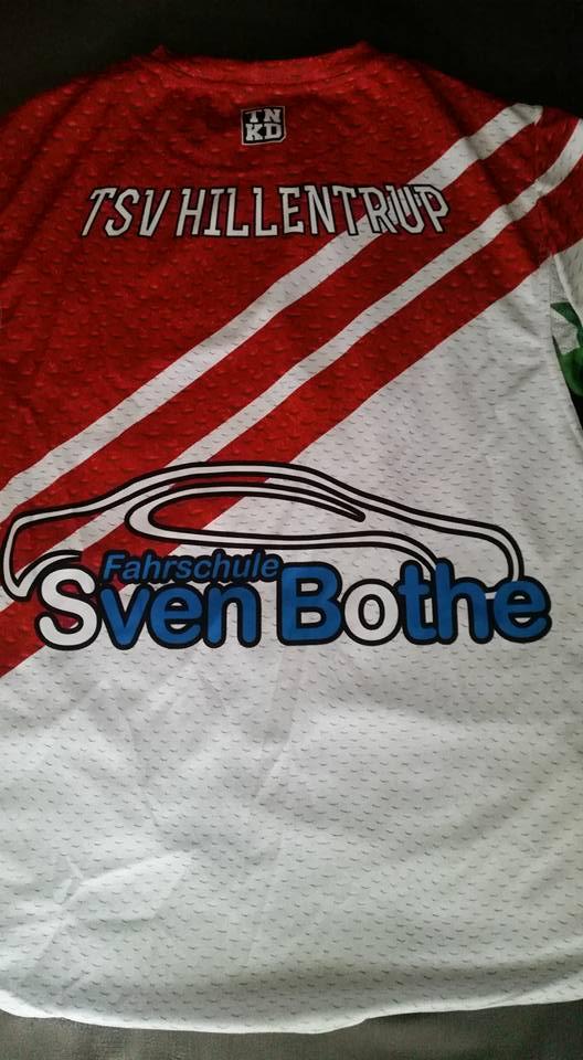 Fahrschule Sven Bothe - TSV Hillentrup Trikots